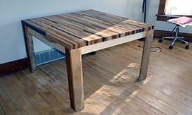 Сборка деревянного стола - 5vodnom