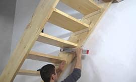 Сборка деревянной лестницы - 5vodnom