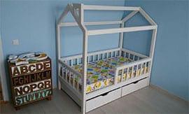 Сборка кровать-домик
