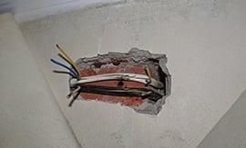Обрыв электропроводки - 5vodnom
