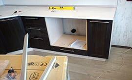 Подготовка к монтажу шкафа - 5vodnom