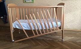 Ремонт детской кровати в Москве