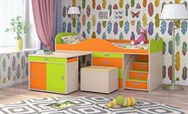 Сборка кровати-чердак в Москве