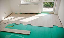 Укладка ламината на бетонный пол - 5vodnom