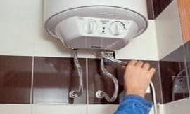 Установка накопительного водонагревателя - 5vodnom