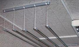 Установка потолочной сушилки