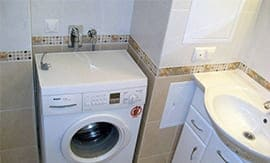 Установка стиральной машины - 5vodnom