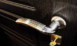 Замена ручек входных дверей